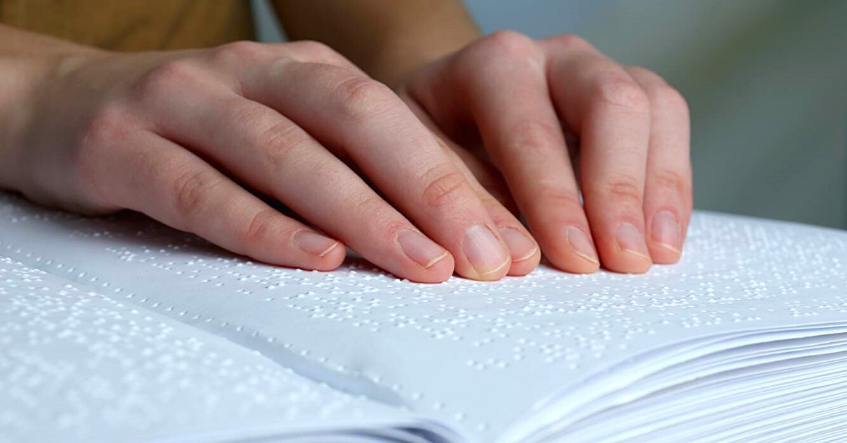 Comunicare col tatto: breve storia della scrittura Braille